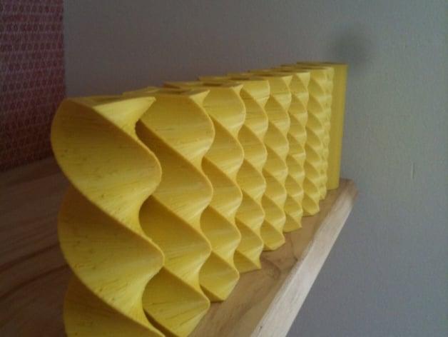 Yellow pillars