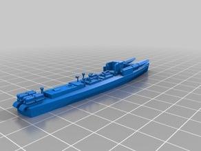 CRDA 60-ton wwii torpedo boat (italian MS boat)