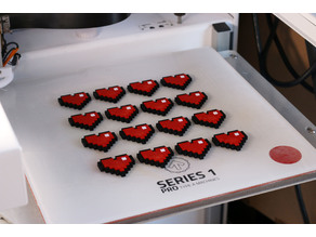 Multi-Color 8-Bit Heart