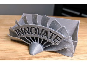 Innovate Fan Blade Business Card Holder
