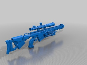 "Deana Del Rio (AKA Pink) Sniper Rifle from ""Double Decker! Doug and Kirill"""