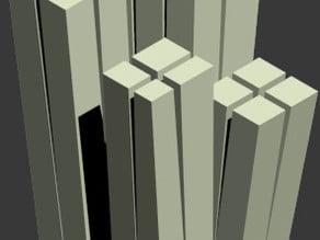 Archetype of a skyscraper