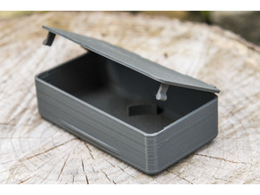 Box 114x64x34mm with clips