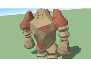 Regirock - Cut and ready for printing