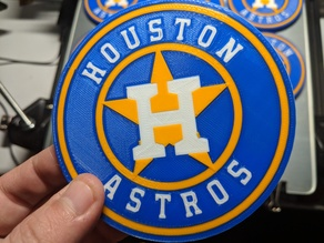 Houston Astros Coaster - Multicolor