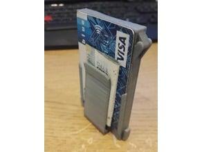 Slim Wallet with Money Clip