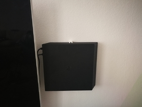 PS4 (pro) wall mount