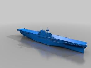 Warship - CV-6 Enterprise (1/10)