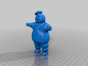 Stay Puft Marshmallow Man Sculpt