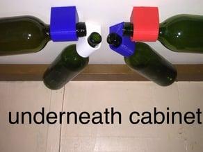 multi position wine bottle holder #CountertopChallenge