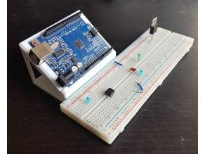 Arduino Uno Breadboard Stand
