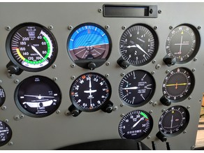 Instrument Panel Bezels - Cessna 172 Flight Simulator