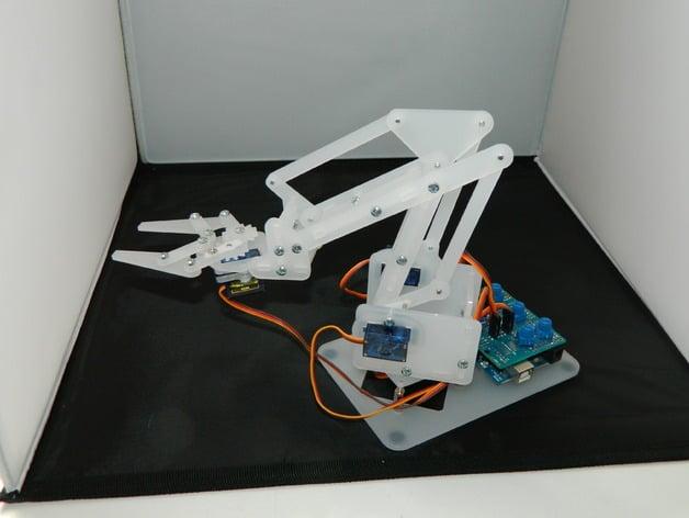 Cardboard Claw Machine Instructions