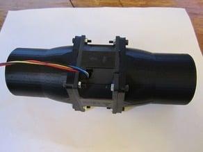 60mm fan to flex hose