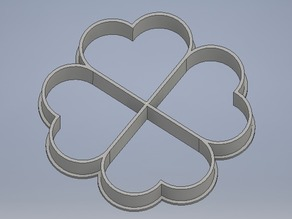 4 hearts cookie cutter