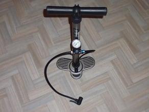 Pompe a vélo: Support manometre