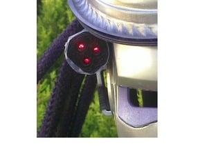 Predator Costume Tri-Laser Adapter DIsc