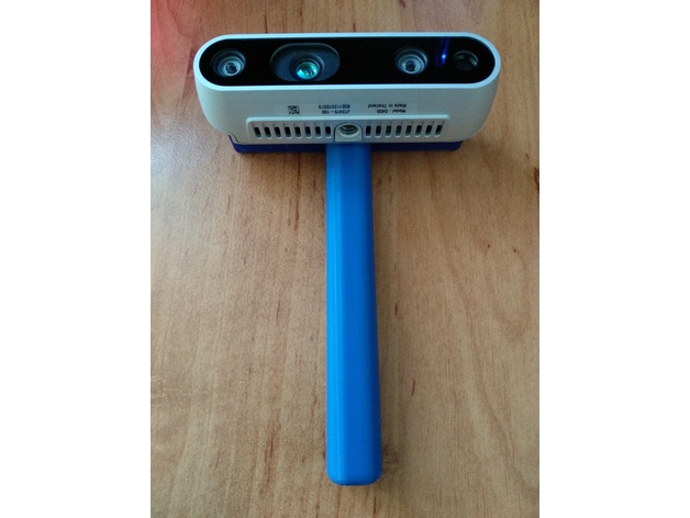 Intel RealSense D400 series holder by Brr0 - Thingiverse