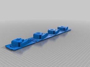 Mixing stepper extruder Block v2 assembled
