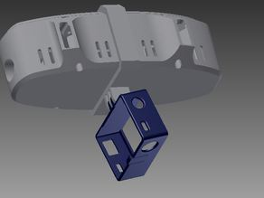 GoPro Mount for FPV Mini Quadcopter