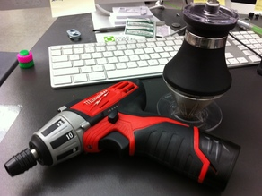 The Coffeebit - a drillbit for your coffee grinder