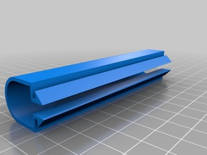 100mm Cable Cover for 20x20 Aluminium Extrusion