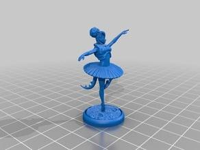 Baila, Battle Ballerina - Tiefling Monk - D&D Mini