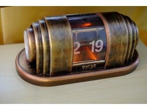 Art Deco Flip Clock (Bioshock)