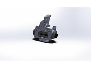 Pan gimbal for runcam/mobius mini