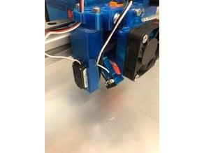 Servo Z-Probe with micro-switch