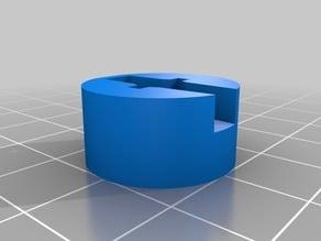 SG90 LEGO wheel adapter