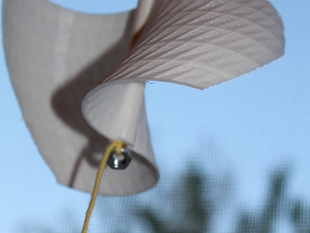 Mr. Twisty Dance:a vertical wind turbine or wind art
