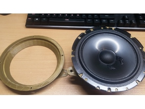 165mm front speaker adapter for Mercedes C-class W202