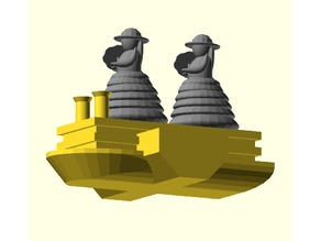 Parametric Mississippi Queen Ship
