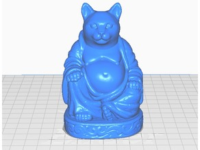 Cat Buddha (Animal Collection)