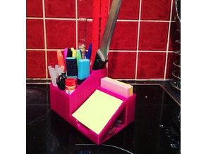 Desk Tidy with Post-it Holder
