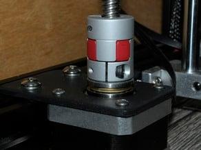 Z axis Thrust Ball Bearing support