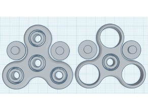 Fidget Spinner with bearings only need BBs