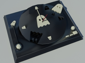 Ghostly clock