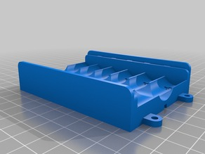 6 Battery box for AA cells
