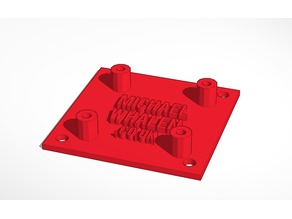 Diatone d-link f3 mini mounting bracket adapter 30.5mm to 23mm