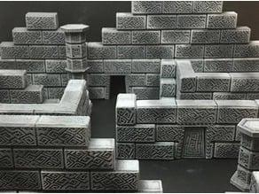 Modular Cyclopean Ruins (15mm scale)