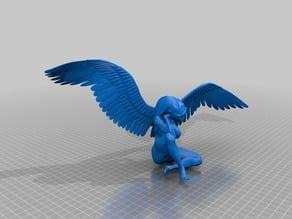 angel bizarre sculpture ancient