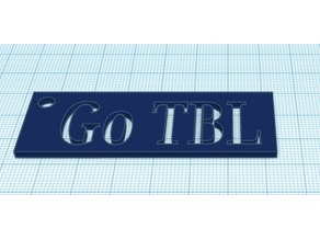 Go TBL keychain- Marcey S.