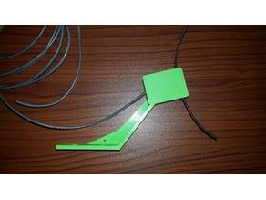 Mechanical filament runout sensor bracket