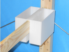 Twin Deep Buckets for Ikea Ivar Shelving System