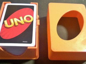 UNO Card Box Deck Holder Kartenschachtel
