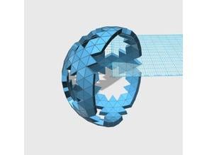 Geodesic 6V Hemisphere Pattern_43_57_66