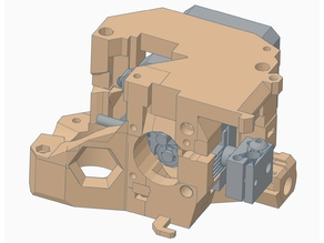 Flexion HT Extruder for the Prusa i3 MK2S