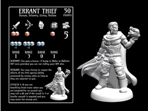 Errant Thief (18mm scale)
